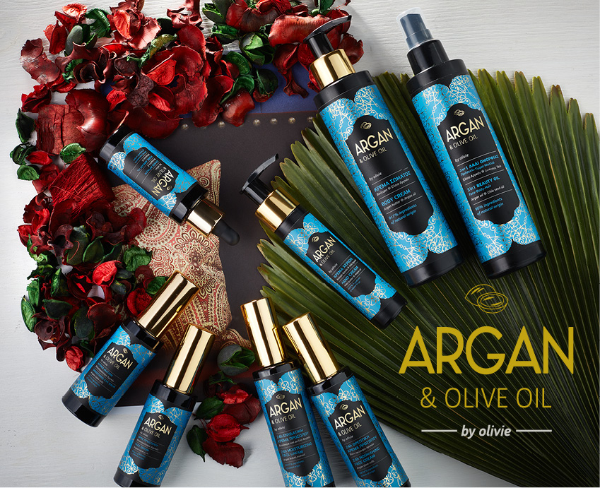 WITH ARGAN OIL